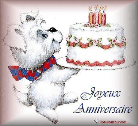 Gifs joyeux anniversaire - Image gateau anniversaire humour ...